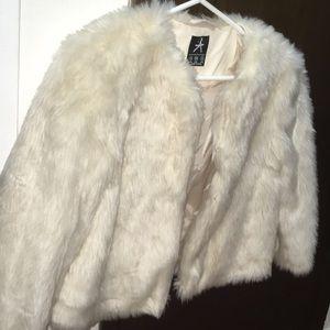 Mini Faux Fur Jacket!!